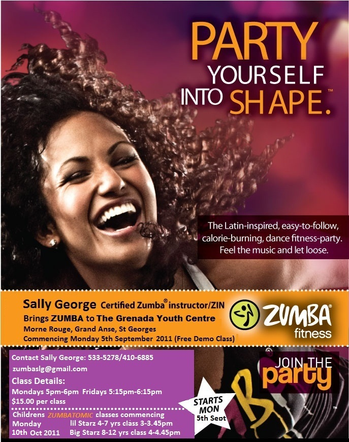 Zumba Is Here In Grenada St Georges Medical School