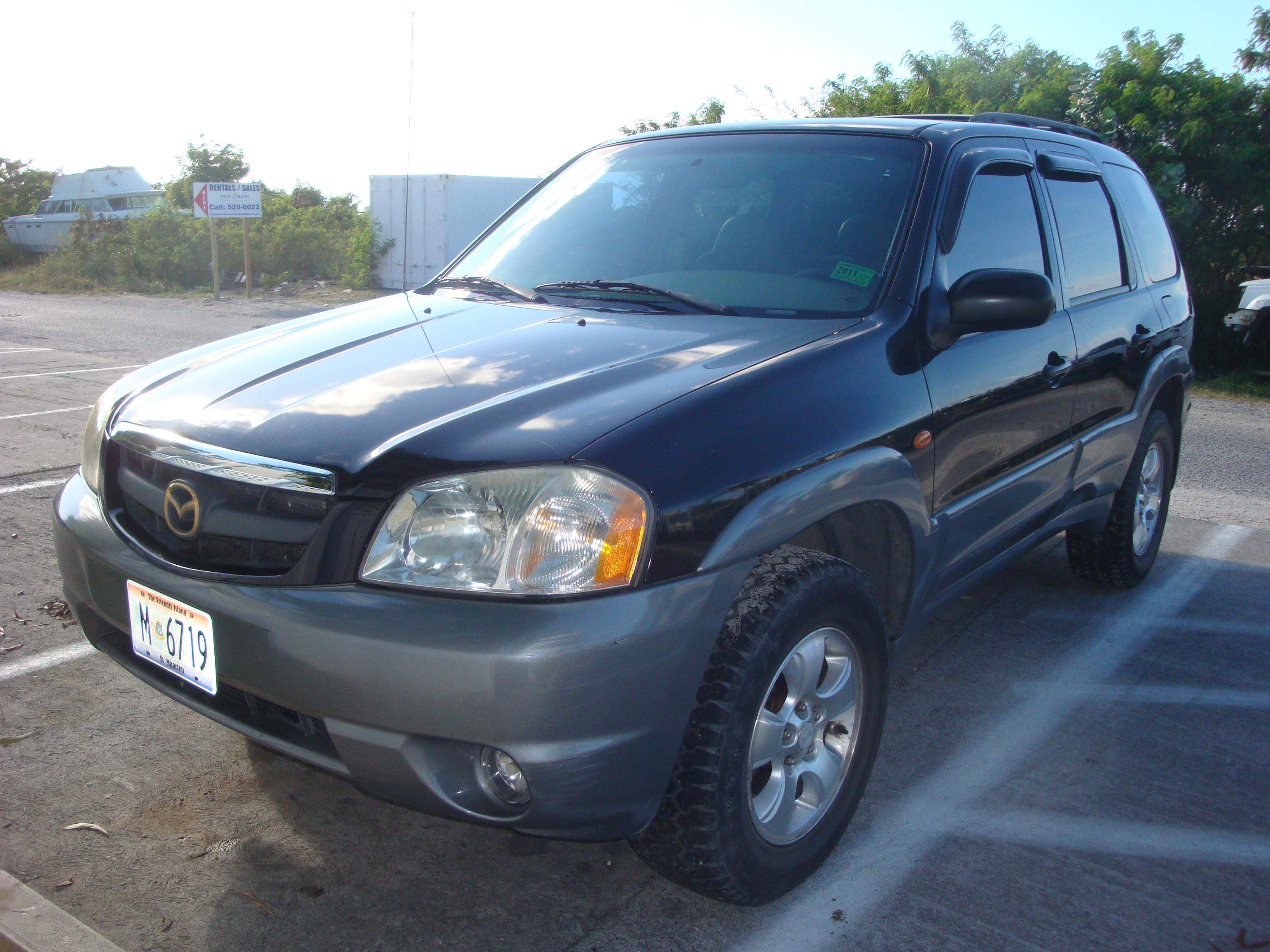 2001 mazda tribute suv black for sale 3900 obo auc. Black Bedroom Furniture Sets. Home Design Ideas