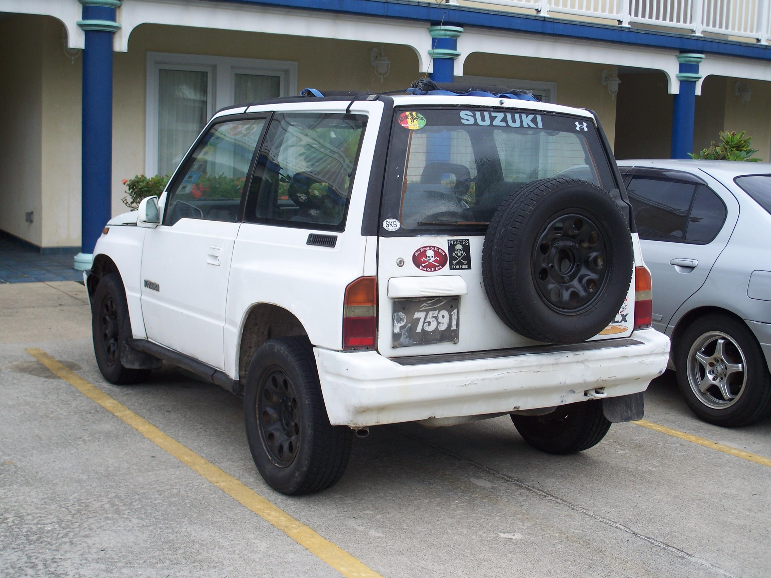 1992 suzuki vitara suv 4x4 for sale price drop mua nevis medical school classifieds. Black Bedroom Furniture Sets. Home Design Ideas