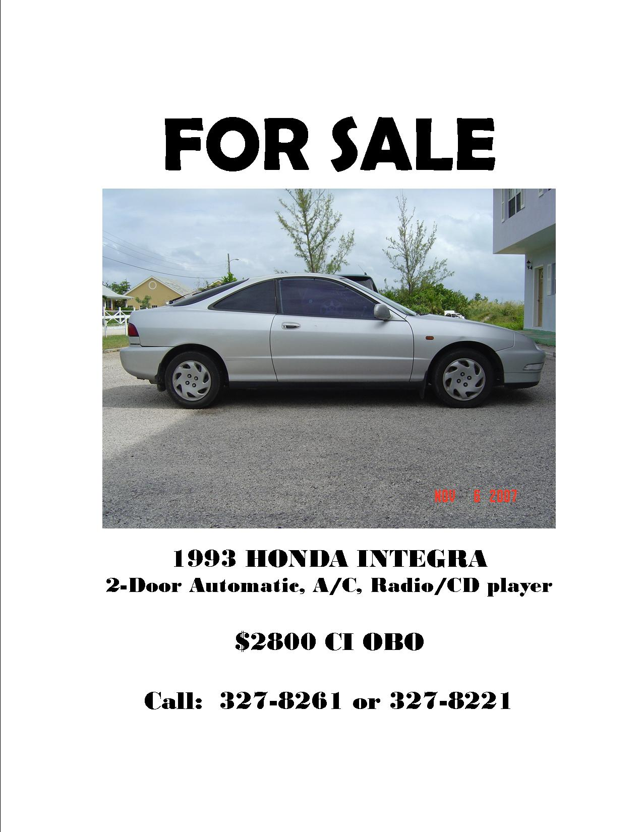 1993 honda integra for sale st matthews medical for Pictures for sale cheap