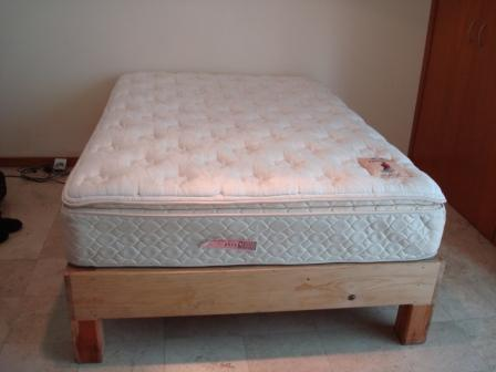 Full Size Mattress And Frame For Sale