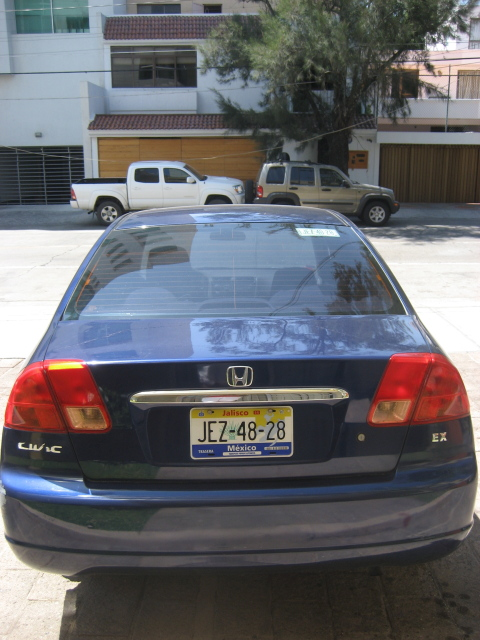 2001 honda civic for sale automatic w jalisco plates. Black Bedroom Furniture Sets. Home Design Ideas