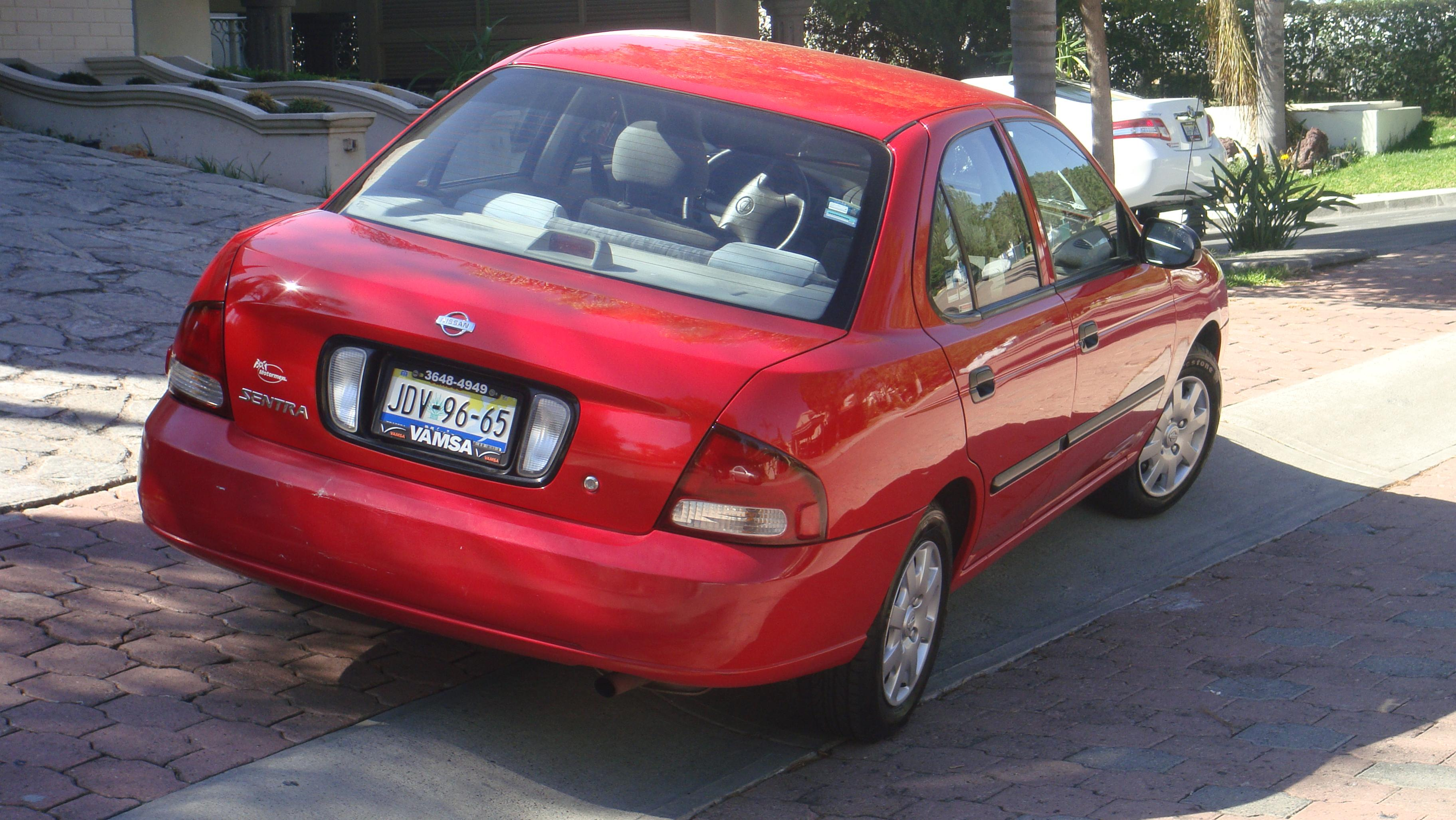 Cheap Car Tires >> 2001 Nissan Sentra- Red (Jalisco Plates) | UAG Medical School Classifieds