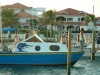 MUA BELIZE Fishing Tournament with Campus in background