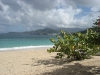 Grand Anse beach - next to Grand Anse campus, view on St. George's