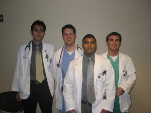 AUC Students at Union Memorial Hospital - 2002
