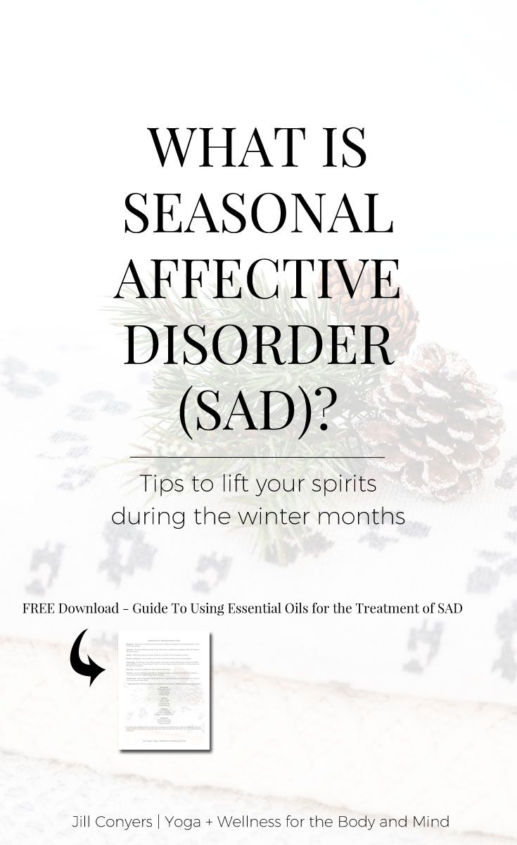 How To Cope with Seasonal Affect Disorder