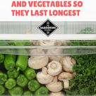 Learn how to store fruits and vegetables in the fridge so they don't spoil so quickly. Save lots of