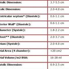 Normal Ranges in Echocardiography