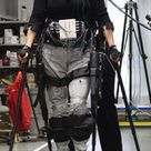 Ekso Bionics' exoskeleton used to let paraplegics walk (video).