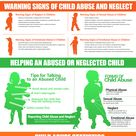 What are the common signs and indications of child abuse?