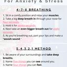 Calming Grounding Techniques for Anxiety