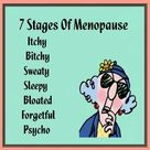 7 stages of menopause