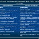 Image result for light microscopy advantages and disadvantages