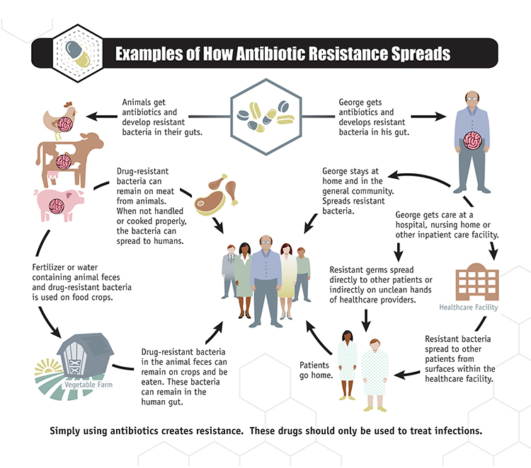 You probably know that we have a problem with germs that are resistant to antibiotics but did you kn
