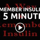Remember Insulins in Five Minutes by Edward Jenner