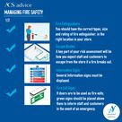 Manage fire safety
