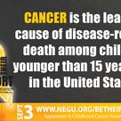 Cancer is the leading cause of disease-related death to children in the US.