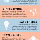 Ways to reduce your enviroment impact