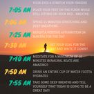 For a healthy and mindful start to your day, practice this morning routine filled with natural anxie