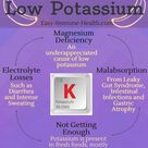 What causes low potassium? You might be surprised. It's more than not getting enough potassium. http