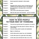 How do win and influence people