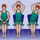 Arm and shoulder exercises to help regain motion after breast surgery.