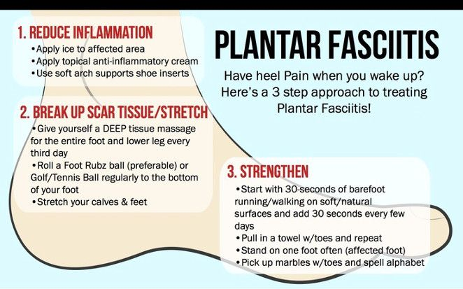 Plantar Fasciitis pain can be very stubborn and last for months or even years?