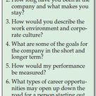 A list of questions you should ask during your job interview, plus my own?