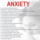 Affirmations to fight your anxiety #Depression