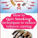 How to quit smoking within hour of stopping smoking.