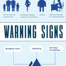 Varicose veins don't just show up overnight. There are warning signs to keep in mind!
