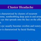 Cluster headache pediatrics