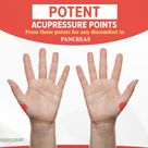 Potent acupressure points
