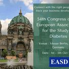 54th Congress of the European Association for the Study of Diabetes