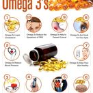 Top 10 Health Benefits of Omega 3