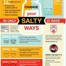 Change your salty ways in only 21 days