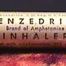 History of Benzedrine, the first pharmaceutical drug that contained amphetamine.