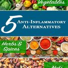 Top 5 Anti-Inflammatory Alternatives