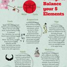 5 Ways to Balance the 5 Elements Traditional Chinese Medicine