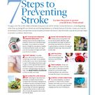 [Printable] 7 STEPS TO PREVENTING STROKES: No matter your gender or age group, you could be at risk