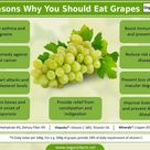 Benefits of green grapes
