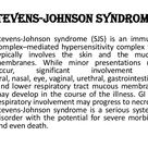 Steven-Johnson syndrome