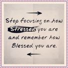 Blessed you are