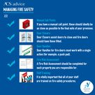 Managing fire safety