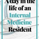 A day in the life of an internal medicine resident