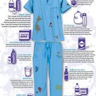 A new shift, a new stain! Extremely helpful to us CNAs, Nurses, Medical Assistants, Surgeons, Doctor