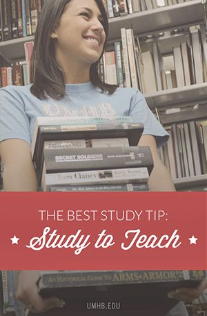 The Best Study Tip: Study to teach - How you will actually learn.