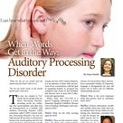 When Words Get in the Way: Auditory Processing Disorder