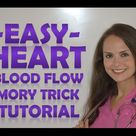 Easy Way to Memorize Blood Flow of the Heart Anatomy & Pathophysiology